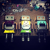 Girlbots on the bench!
